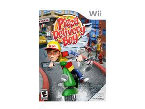 Pizza Delivery Boy Wii Game MAJESCO