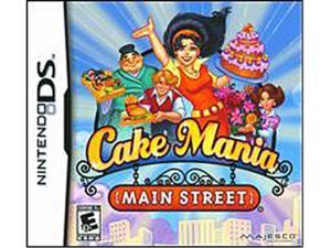 Cake Mania Main Street Nintendo DS Game