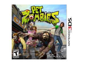 Pet Zombies in 3D Nintendo 3DS Game MAJESCO