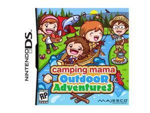 Camping Mama: Outdoor Adventures Nintendo DS Game MAJESCO