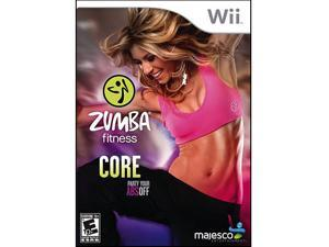 Zumba Fitness Core Wii Game MAJESCO