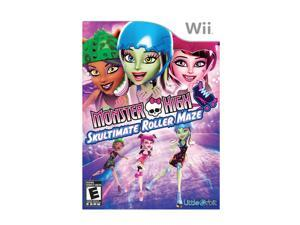 Monster High: Skultimate Roller Maze Wii Game
