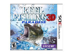 Reel Fishing Paradise Nintendo 3DS Game Natsume
