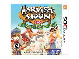 Harvest Moon: New Beginning Nintendo 3DS Game                                                                            ...