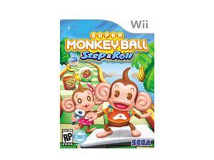 Super Monkey Ball Step & Roll Wii Game