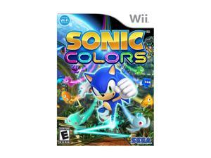 Sonic Colors Wii Game SEGA