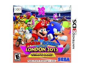 Mario & Sonic: London Olympic Games Nintendo 3DS Game SEGA