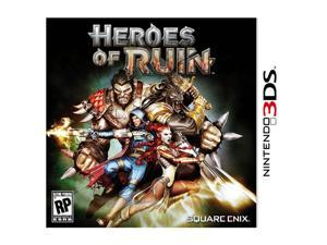 Heroes of Ruin Nintendo 3DS Game SQUARE ENIX