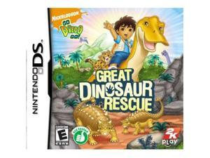 Go Diego Go: Great Dinosaur Rescue Nintendo DS Game Take2 Interactive