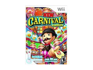 New Carnival Games w/Wii Motion Plus Bundle Wii Game