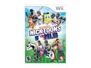 Nicktoons MLB Wii Game Take2 Interactive