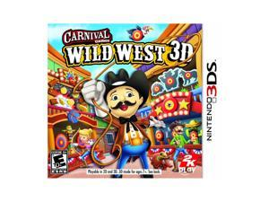Carnival Games: Wild West 3D Nintendo 3DS Game
