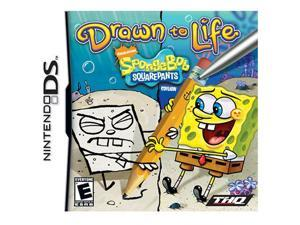 Drawn To Life Spongebob Squarepants Edition Nintendo DS Game THQ