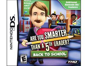 Are You Smartter Than a 5th Grader: Back to School Nintendo DS Game