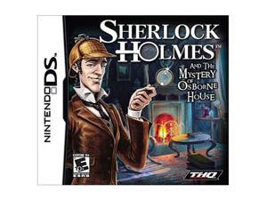 Sherlock Holmes and the Mystery of Osborne Nintendo DS Game