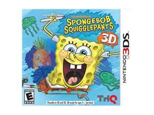 Spongebob Squigglepants Nintendo 3DS Game
