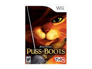 Puss in Boots Wii Game THQ