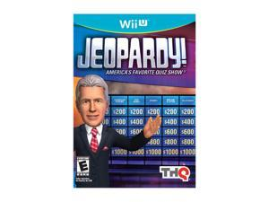 Jeopardy Wii U Game THQ