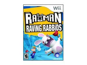 Rayman Raving Rabbids Wii Game