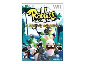 Rabbids Go Home Wii Game Ubisoft