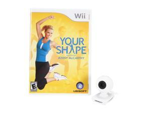 Your Shape w/Camera Wii Game