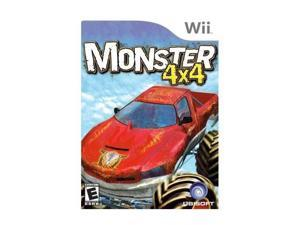 Monster 4X4 Stunt Racer Wii Game Ubisoft