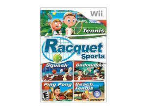Racquet Sports w/Camera Wii Game Ubisoft