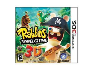 Rabbids Travel in Time Nintendo 3DS Game Ubisoft