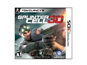 Splinter Cell 3D Nintendo 3DS Game Ubisoft