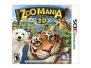 Zoo Mania 3D Nintendo 3DS Game