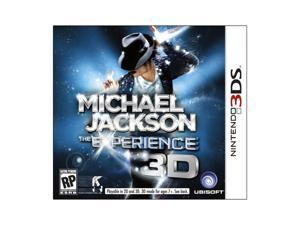 Michael Jackson: The Experience Nintendo 3DS Game Ubisoft