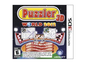 Puzzler World 2012 3D Nintendo 3DS Game