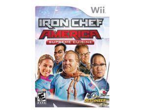 Iron Chef America: Supreme Cuisine Wii Game