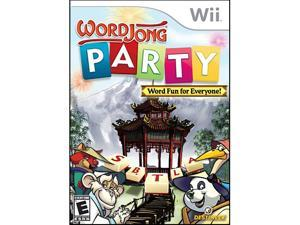 Word Jong Party Wii Game