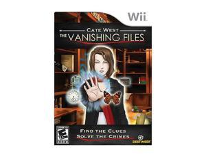 Cate West: Vanishing Files Wii Game