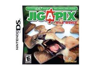 Jigapix Wild World Nintendo DS Game