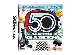 50 Classic Games Nintendo DS Game DESTINEER