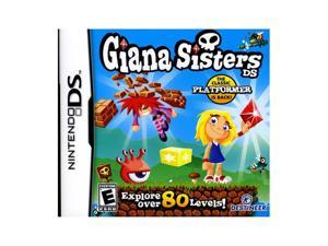 Giana Sisters Nintendo DS Game DESTINEER