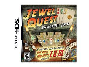 Jewel Quest Solitaire Trio Nintendo DS Game DESTINEER