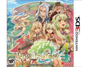 Rune Factory 4 Nintendo 3DS Game