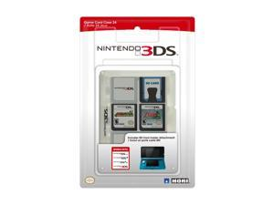 HORI Nintendo 3DS Game Card Case 24 (Clear)