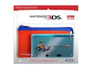 HORI 3DS Protector and Easy Pouch Set (Mario Kart 7 Vers)