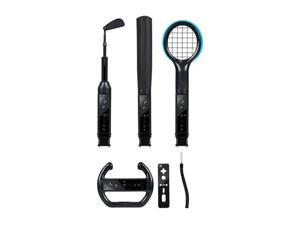 CTA WI-6KB Nintendo Wii(R) Grand Slam 6-In-1 Sports Pack (Black)