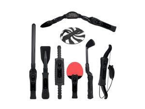 CTA Digital 8 in 1 Sports Pack for Wii Sport Resort in Black
