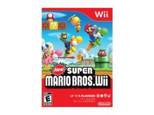 New Super Mario Brothers Wii Wii Game Nintendo