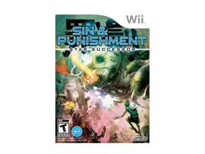 Sin & punishment 2 Wii Game