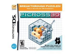 Picross 3D Nintendo DS Game Nintendo