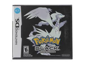 Pokemon Black Nintendo DS Game Nintendo