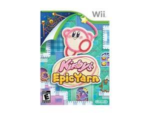 Kirby's Epic Yarn Wii Game