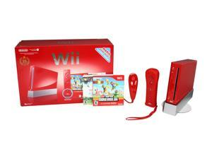 Nintendo Wii Bundle Red